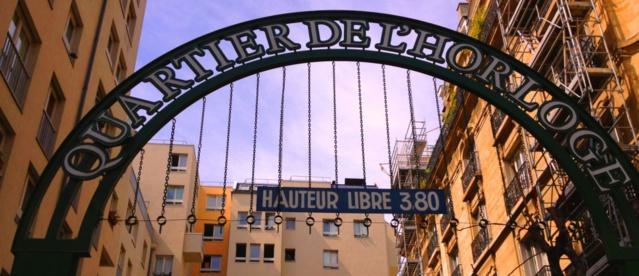 Modern condominium in the heart of Paris.