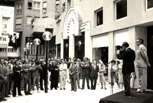Inauguration officielle le 22 décembre 1983, par la COGEDIM, de son programme immobilier du Quartier de l'Horloge. (source: Blog-notes de Michel Desmoulin)