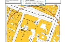 Plans du Quartier de l'Horloge à Paris