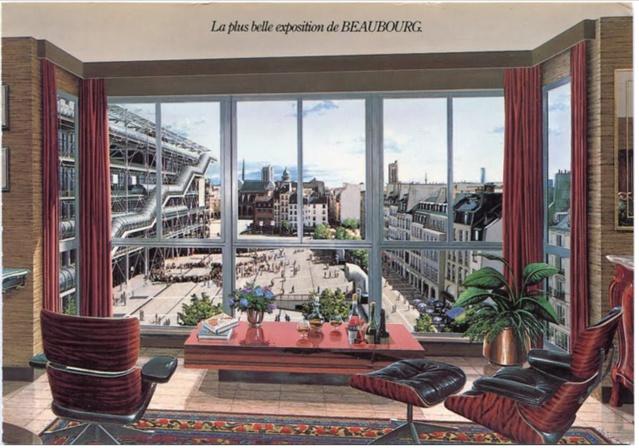 Carte postale du promoteur immobilier COGEDIM vantant le Quartier de l'Horloge.