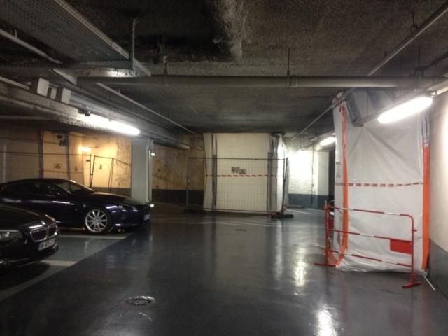 Opération de repérage de l'amiante dans le parking INDIGO.