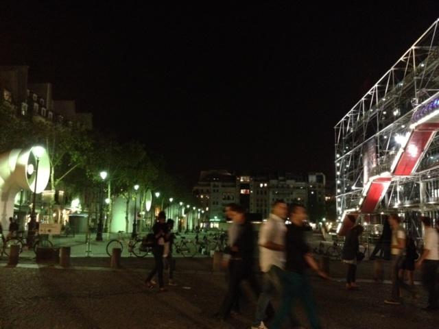 Dans l'ombre du Centre Pompidou, un quartier à découvrir