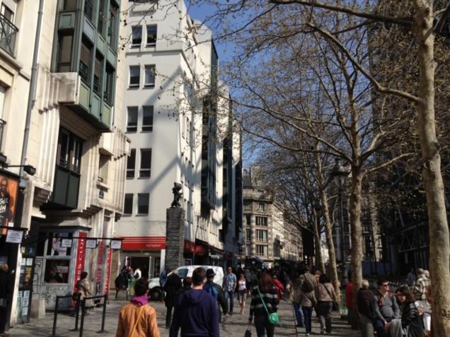 Rue Rambuteau, rue piétonne?