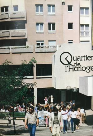 Le Quartier de l'Horloge, fin des années 80 in Les Halles, La renaissance d'un quartier 1966-1988, Christian Michel.