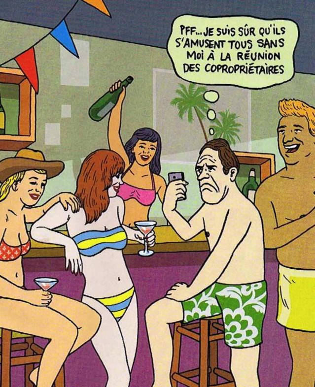 Illustration Pierre La Police - M Le magazine Le Monde