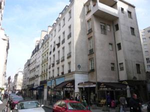 Le Quartier de l'Horloge au niveau de la rue Saint-Martin