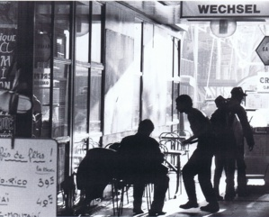 Passage Brantôme 1979. Photo Marc Petitjean