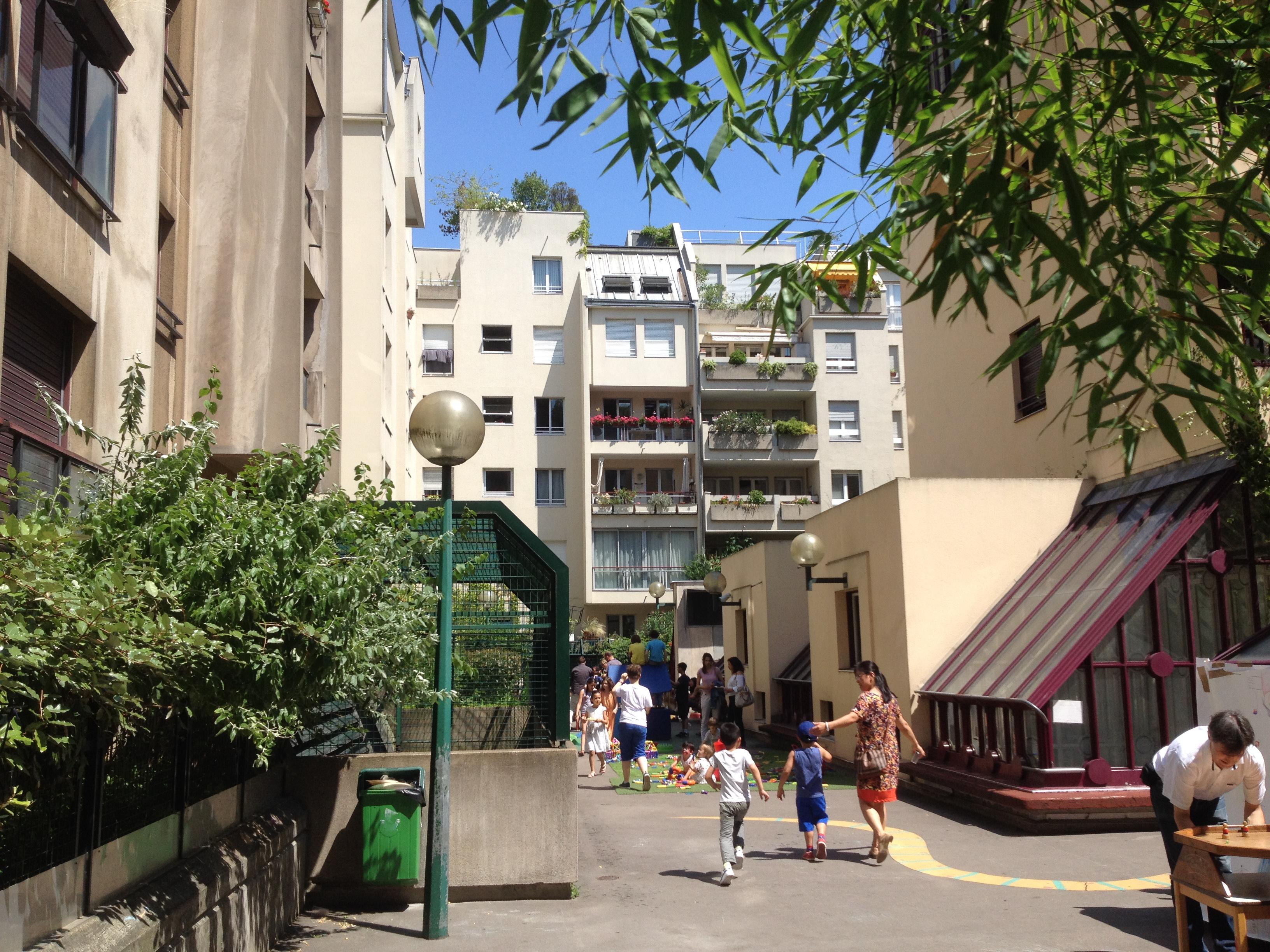 Nichée au cœur du Quartier de l'Horloge l'école maternelle Brantôme rythme la vie des habitants depuis 1982. Elle a accueilli 36 rentrées scolaires avant de fermer en juillet 2018. Photo: association TEMPO