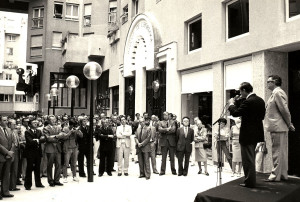 Inauguration officielle le 22 décembre 1983, par la COGEDIM, de son programme immobilier du Quartier de l'Horloge. (source: Blog-notes de Michel Desmoulin)