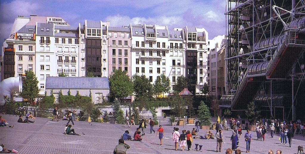 Le Quartier de l'Horloge en 1982.