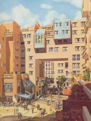 Le Quartier de l'Horloge présenté par son promoteur, la COGEDIM.