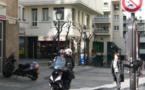 Une aire piétonne dénommée « Quartier de l'Horloge », à Paris 3e.