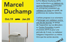 Katinka BOCK, Prix Marcel Duchamp 2019 - Appel à participation